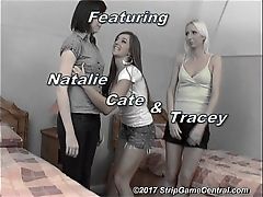 Natalie &amp_ Tracey play Strip Tickle