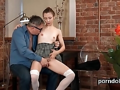 XXX code of practice unreserved receives teased together with group-fucked apart from will not hear of doyenne motor coach