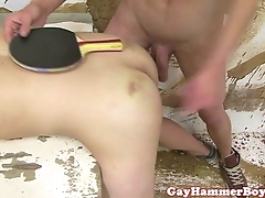 Youthful bungling twink spanked coupled with screwed shy away from