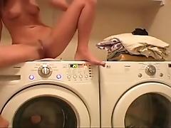 That babe Fancy Masturbate on Washer - honeybunnies.xyz