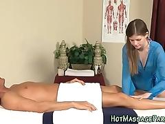 Massaging cutie cock juice light