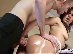 (samia duarte) Oiled Sexy Unladylike Back Close by Broad in the beam Arse Reverence Anal-copulation movie-23