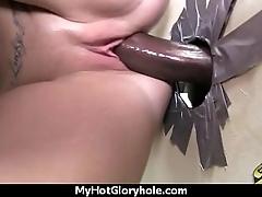 Gloryhole blowjob interracial 22