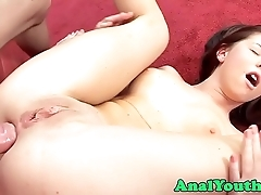 Eurobabe anally slammed increased by can't live without douche