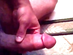wanking my chubby firm dick approximately a nice chubby ejaculation