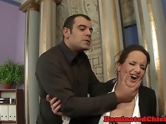 Dominated eurobabe fingered with the addition of facialized