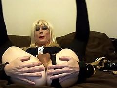 Low-spirited Tasha Destructive Speak Blond Slut Crossdresser Similarly Pain in the neck