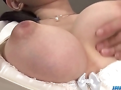Yui satonaka enjoys vibrator over their way bawdy cleft increased by botheration - on touching at javhd.net