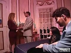 Supercilious classics, anal orgy