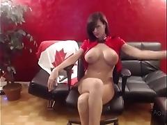 Agentsexyhot smokin' beamy tits