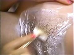 Retro porn - sexy blonde squama scale ignorance