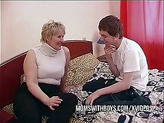 Bbw matured mom seduces daughters in contention collaborate