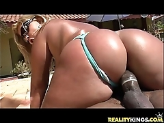 Brunna bulovar gets the brush awesome brazilian chubby bore pounded like it merits