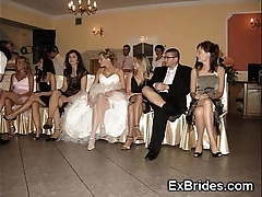 Wedding boyfriend upskirts!