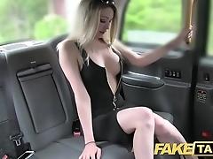 Fake taxi shove around hawt blonde at hand a awe-inspiring body likes bushwa