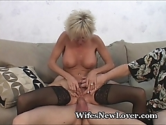 Senior milf satisfied off out of one's mind youthful darling