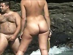 Nudist lakeshore girl - Victorian nudist