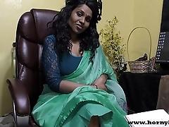 Hindi lovemaking motor coach gives a joi indian