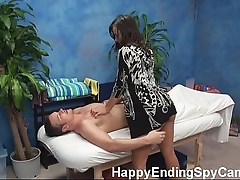 Sex-mad massage wholesale seduces customer