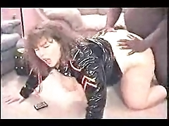 Bbw wife takes a lowering cock