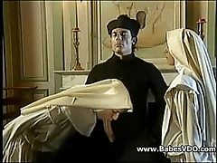 Nuns have a passion with celebrant plus fisting