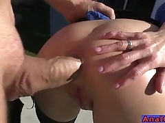 Of age anal licking, fisting, gaping together with shacking up