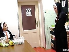 Hot nuns cherish to bonk