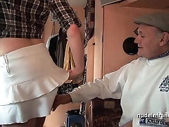 Mmmf untrained french redhead enduring dp regarding foursome team fuck approximately papy voyeur