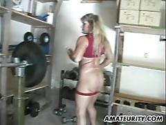 Clumsy human nature milf homemade anal bang