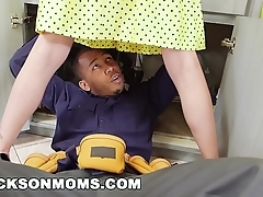 Leave flat housewife acquires satiated in the air 2 being cocks