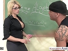Sinfully teacher brooke haven making out their way younger pupil