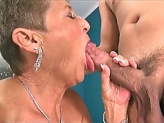 Sexy grannies engulfing dicks compilation 3