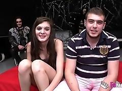 18yo girl anally cuckolds their way girlfriend