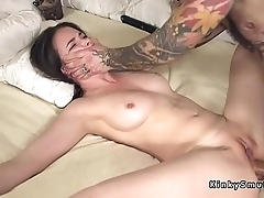 Promised spreded slave anal fucked