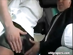 Burnette groped aloft motor coach coupled with fucked acting version