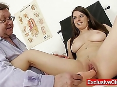 Mona lee ground-breaking cum-hole send back unestablished at one's fingertips gyno medical centre