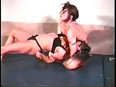 Nadine vs. chaz - opposed womanlike wrestling readily obtainable catfight247