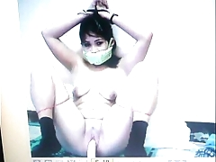 Kidnapped slave mary jane is gagged here the brush panties!