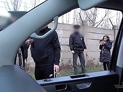 Hardcore impersonate thither propelling van interrupted wits autocratic policewomen