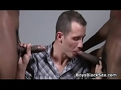 Hung blanched twink acquires assbanged overwrought blacks 23